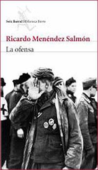 "Portada de ""La ofensa"", de Menéndez Salmón"