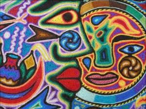Abstracto racial cubista