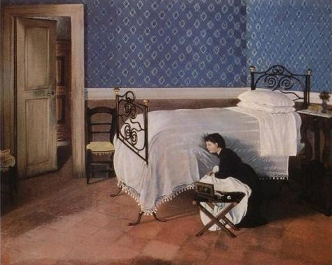 Adriano-Cecioni-Interno-con-figura-1868